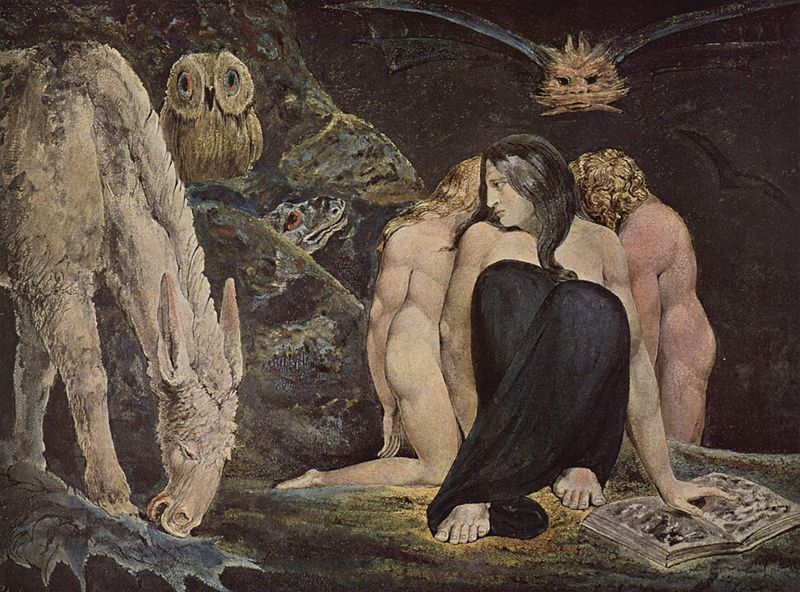 The Night Of Enitharmon Joy 1795 By William Blake, William Blake