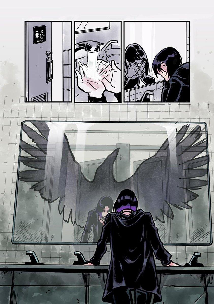 Młodzi Tytani. Raven przykładowa strona