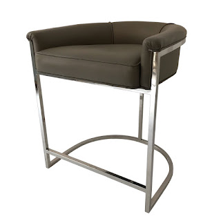 Ateriors Calvin Low-Back Counter Stool
