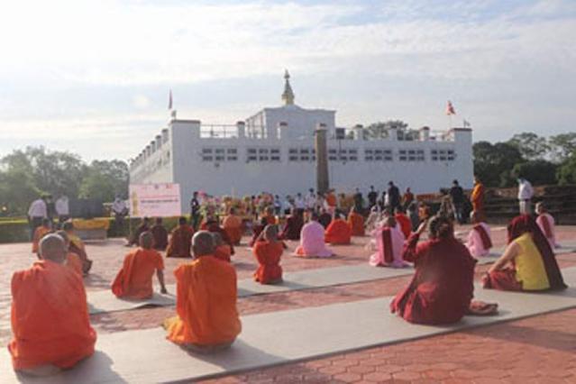 लुम्बिनीमा बङ्गलादेशले बौद्ध विहार बनाउने, ३ वर्षभित्र निर्माण सक्ने गरी सम्झौता पत्रमा हस्ताक्षर