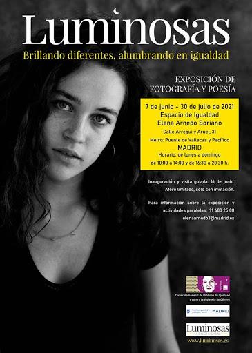 Exposición 'Luminosas' en el Espacio de Igualdad de Retiro 'Elena Arnedo Soriano'