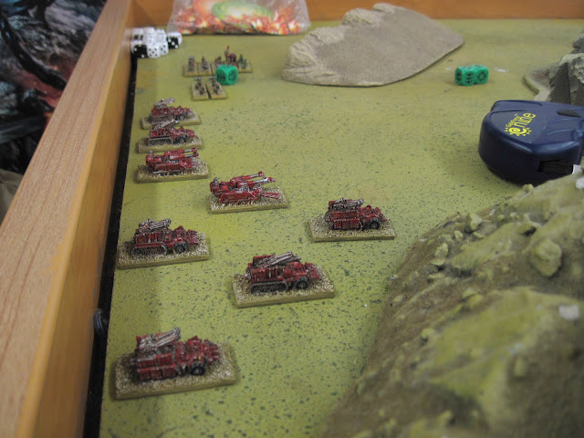 Eric's Blitz Brigade awaiting its orders.