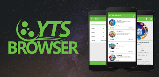 YTS BROWSER - YIFY RSS app (apk) free download for Android