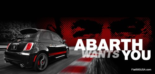 Fiat 500 Abarth Wants You!