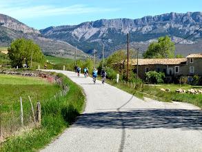 Photo: l'approche du col de Fontbelle