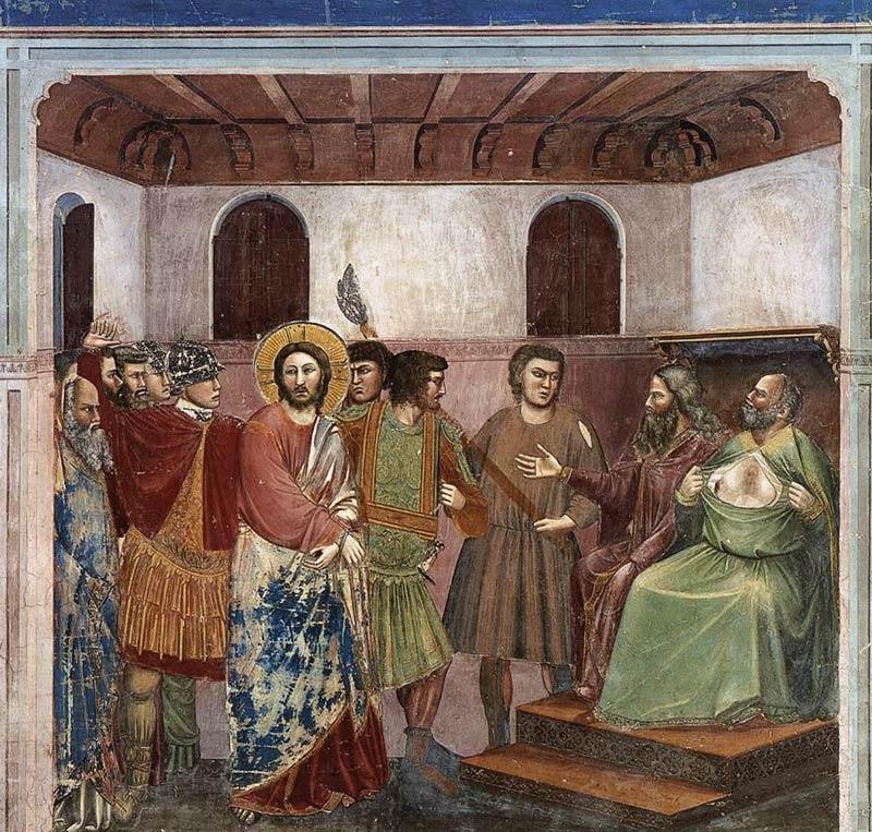 04 Cristo davanti a Caifa