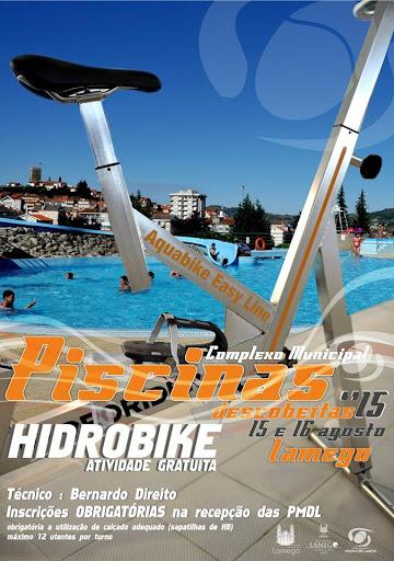 Hidrobike anima o próximo fim de semana nas Piscinas de Lamego