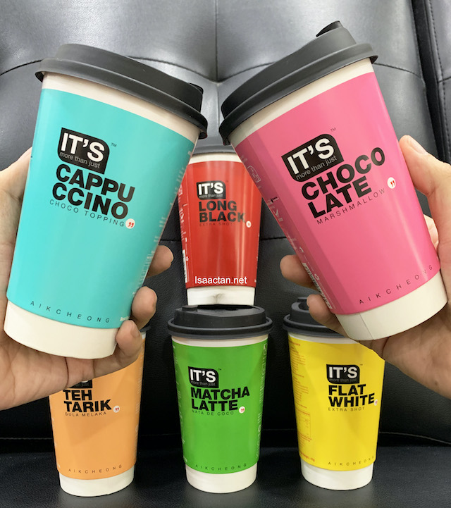 """""""IT'S More Than Just"""" Cup Coffee Series"""