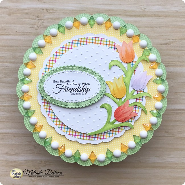 tulip card top