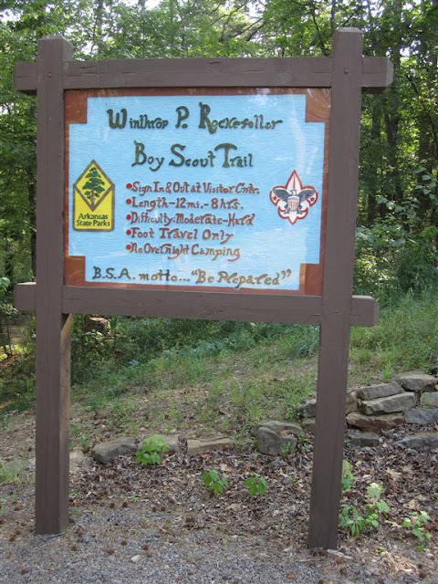 Boy Scout Trail Entrance...I hiked the trail in 1996, it was an amazing day!