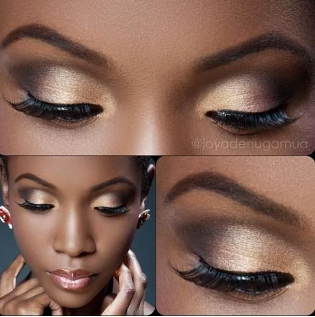 NATURAL WEDDING MAKEUP IDEAS FOR BLACK WOMEN 4