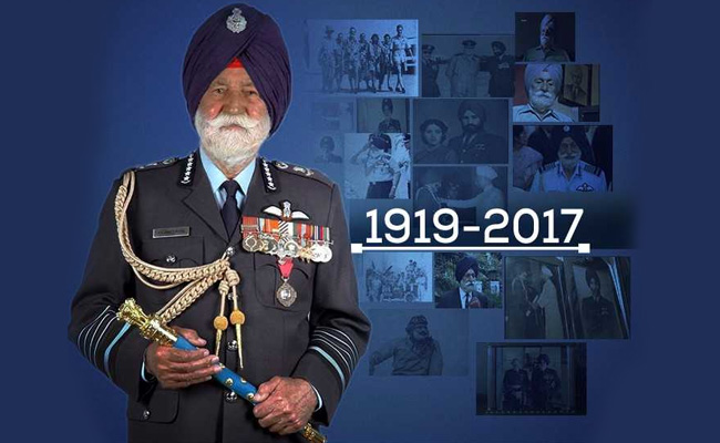 HIGHLIGHTS: Indian Air Force Marshal Arjan Singh Cremated With Full State Honours