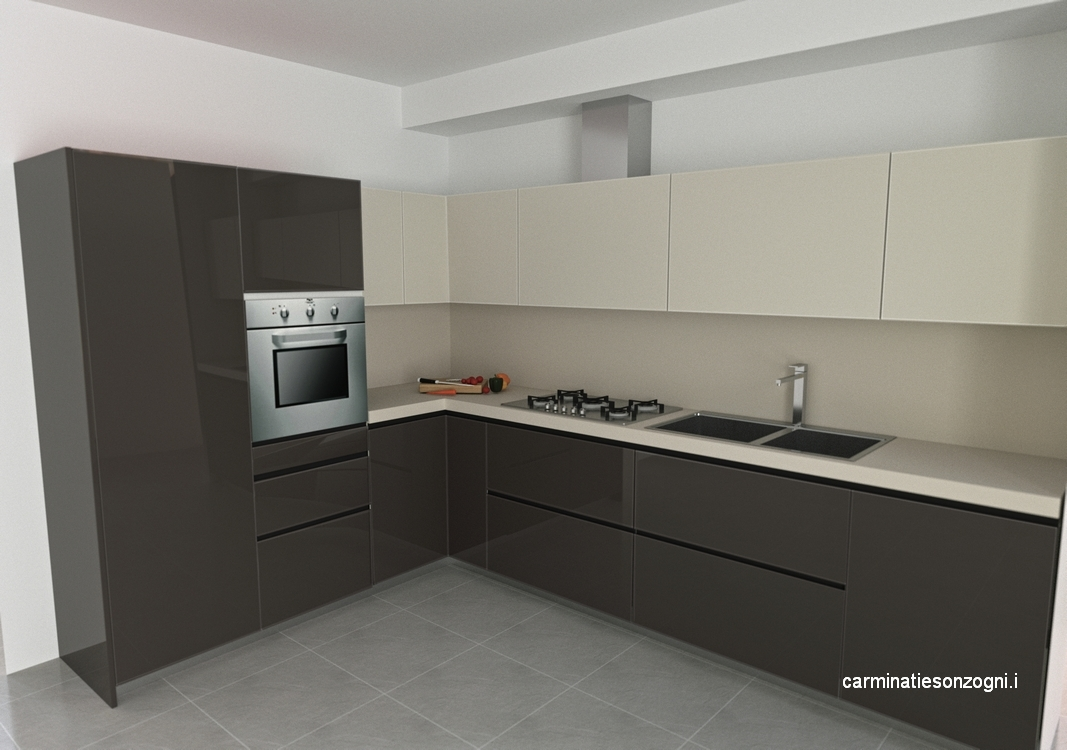 Progettazione arredamento con rendering 3D Carminati e