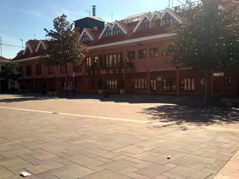 Plaza de España en Bolaños de Calatrava