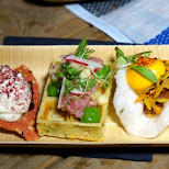 delicious dishes at Food Zurich Festival in Zurich, Switzerland in Zurich, Zurich, Switzerland