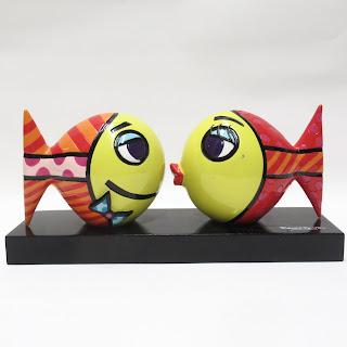 Romero Britto Fish Sculpture