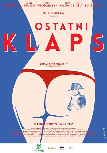 Polski plakat filmu 'Ostatni Klaps'