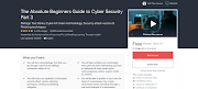 The Absolute Beginners Guide to Cyber Security Part 3 | 100% Off