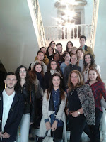 Visita al Hotel Los Patos escalinata