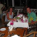 Laatste diner op Vilamendhoo
