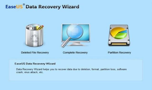 تحميل برنامج EaseUS Data Recovery لاستعادة الملفات المحذوفة للكمبيوتر مجانا