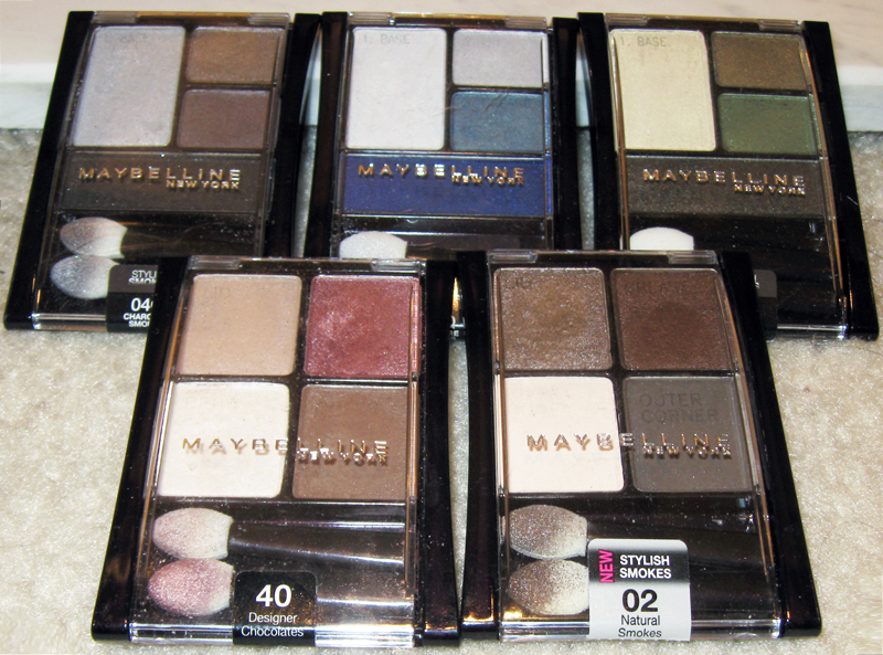 InsideOutElle: Review: Maybelline ExpertWear Quads