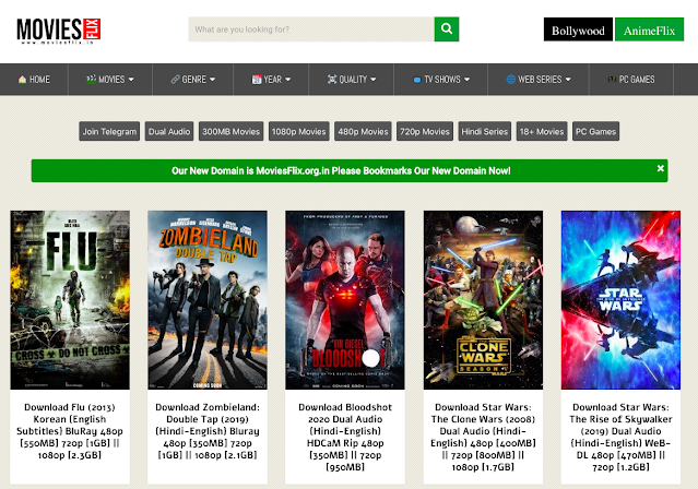 Moviesflix Pro 2021: Download Illegal Hollywood Movies Free From Moviesflix