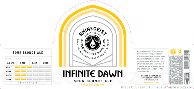 Rhinegeist Outer Reach Sour Ales - Infinite Blonde