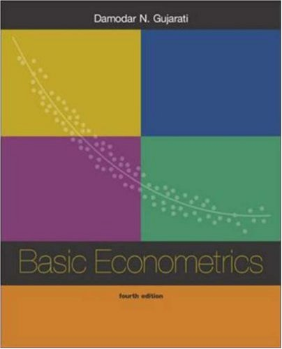 basic econometrics gujarati 4th edition solutions pdf