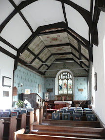 Interior of Friston Church