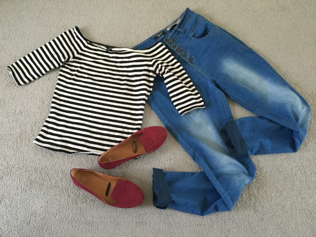 stripes-denim-combos-fashion-photo