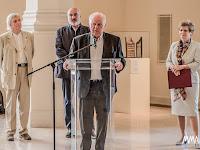 Zachariás István, a Kassai Megyei Önkormányzat alelnöke a kiállítás megnyitóján.jpg