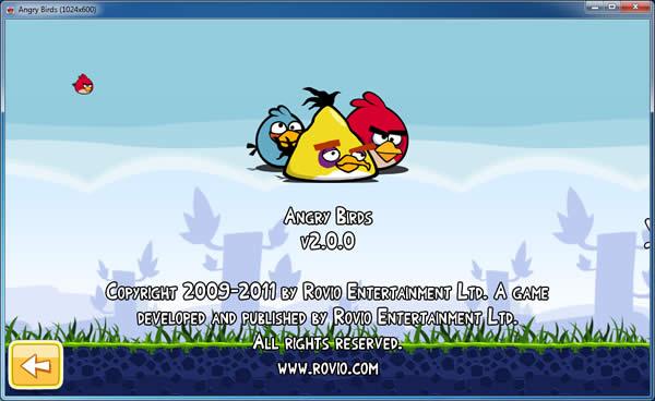 angry birds 2.0.0 para pc