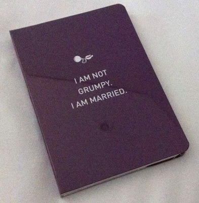 Married life in notebooks