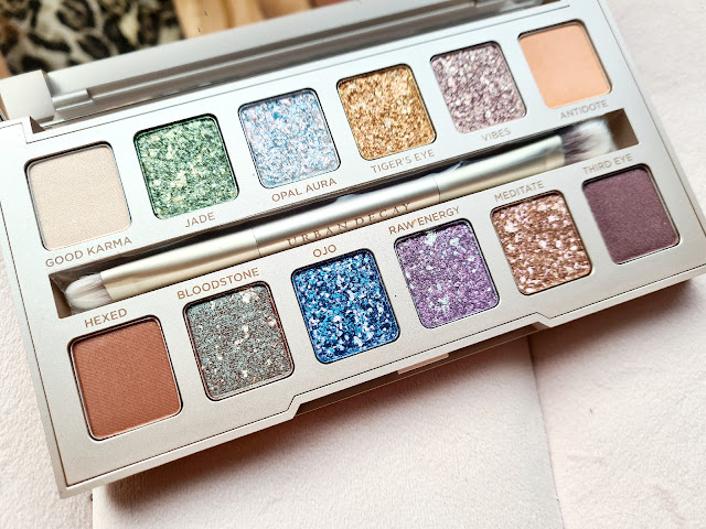 Urban Decay Stoned Vibes Palette shades