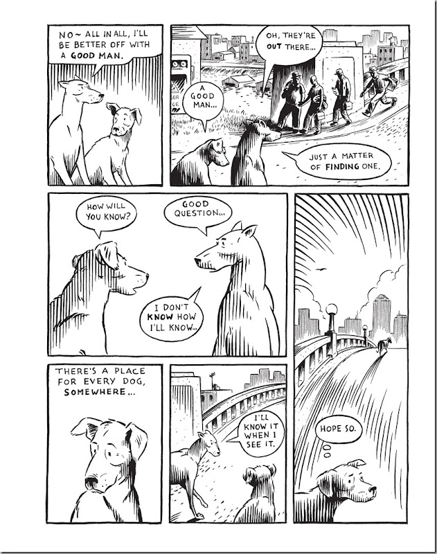 Good Dog By Graham Chaffee 2013 June FantaGraphics There is a Place for every dog