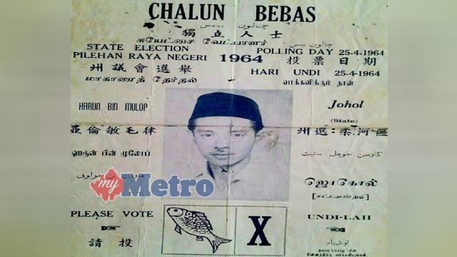 Nostalgia calon Bebas, lambang ikan