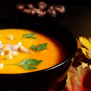 Autumn Heartwarming Orange Soup