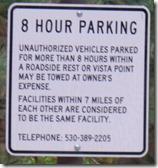 Gold Run Rest Area, I-80, California Sierras