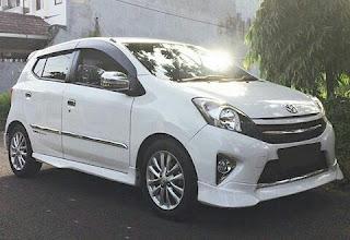 Gambar Modifikasi Daihatsu Agya Biaya Murah
