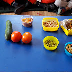 Making Healthy Salad (Playgroup) 10.02.2017