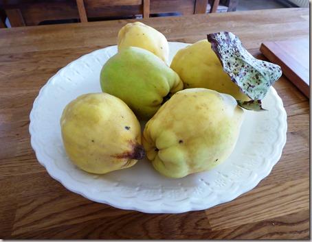 poached quince tarte tatin2
