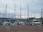 Hotel is adjacent to a nice marina