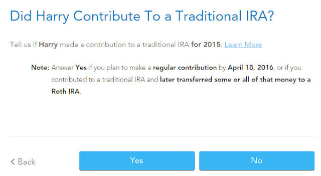 Worksheets Ira Information Worksheet how to report backdoor roth in turbotax check the box for traditional ira
