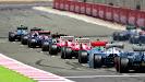 Start of the 2013 British Grand Prix