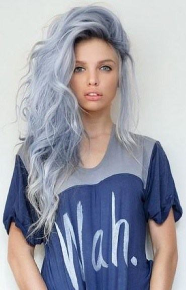 Trendiest Grey Hair Styles For Women  2018