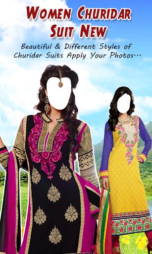 Women Churidar Suit New
