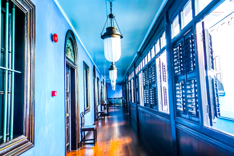 Penang Cheong Fatt Tze Mansion (Blue Mansion) hallway10
