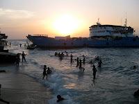Sunset in Stone Town, Zanzibar
