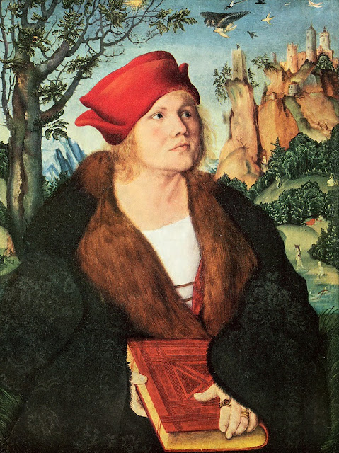 Lucas Cranach the Elder - Portrait of Dr. Johannes Cuspinian